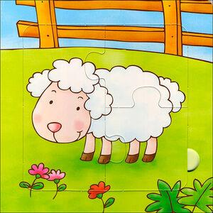 Foto Cover di Cuccioli. Con 5 puzzle, Libro di Silvia D'Achille,Anna Pilotto, edito da Giunti Kids 2