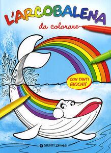 Libro L' arcobalena da colorare Massimo Sardi 0