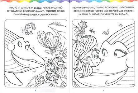 Libro L' arcobalena da colorare Massimo Sardi 2