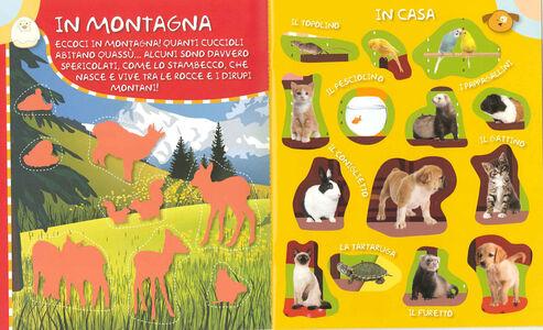 Foto Cover di Tutto stickers. I Cuccioli, Libro di  edito da Giunti Junior 2