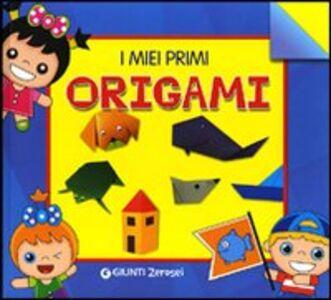 Libro I miei primi origami Martina Boschi