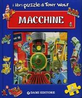Macchine. Libro puzzle