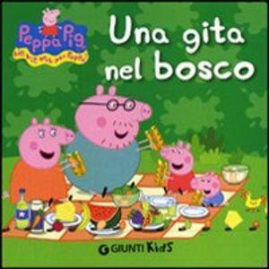 Foto Cover di Una gita nel bosco, Libro di Silvia D'Achille, edito da Giunti Kids