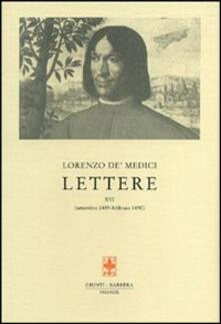 Partyperilperu.it Lettere. Vol. 16: settembre 1489-febbraio 1490. Image