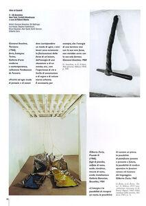 Foto Cover di Arte Povera, Libro di Germano Celant, edito da Giunti Editore 1