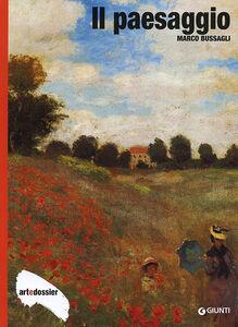 Foto Cover di Il paesaggio, Libro di Marco Bussagli, edito da Giunti Editore