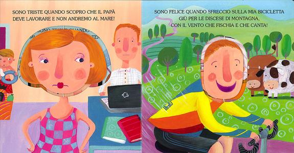 Libro Sono triste, sono felice Manuela Monari 1