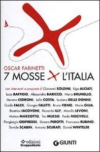 Libro 7 mosse per l'Italia Oscar Farinetti