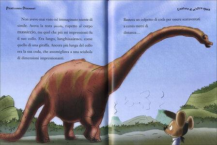 Libro Pirati contro dinosauri. Capitan Fox. Con adesivi Marco Innocenti , Simone Frasca 1