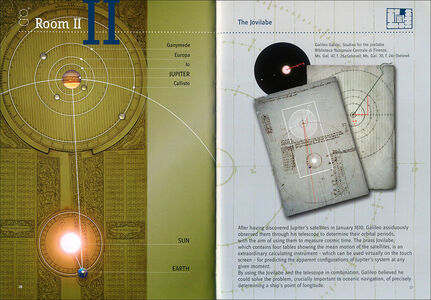 Libro Museo Galileo. Interactive Area. Galileo and the measurement of time  1