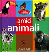 Amici animali. Con adesivi