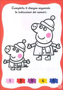 Foto Cover di Gioca e impara con Peppa Pig. Hip hip urrà per Peppa! Con adesivi, Libro di Silvia D'Achille, edito da Giunti Kids 1