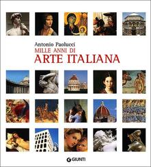 Antondemarirreguera.es Mille anni di arte italiana Image