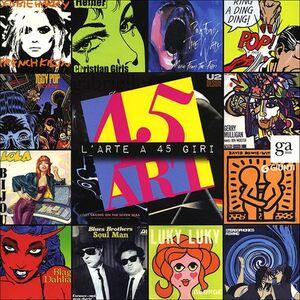 Libro 45 art. L'arte a 45 giri. Catalogo della mostra (Napoli, 14 luglio-10 settembre 2012)  0