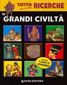 Parcoarenas.it Le grandi civiltà. Con adesivi Image