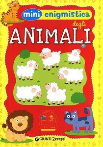 Libro Mini enigmistica degli animali