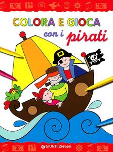 Libro Colora e gioca con i pirati