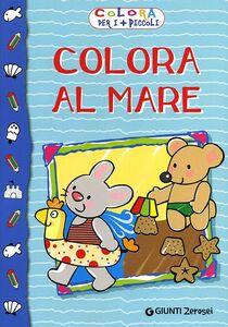 Libro Colora al mare