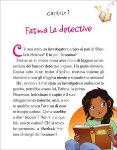 Libro Fatima e il furto misterioso. La banda delle ragazzine. Con adesivi Paola Zannoner 1