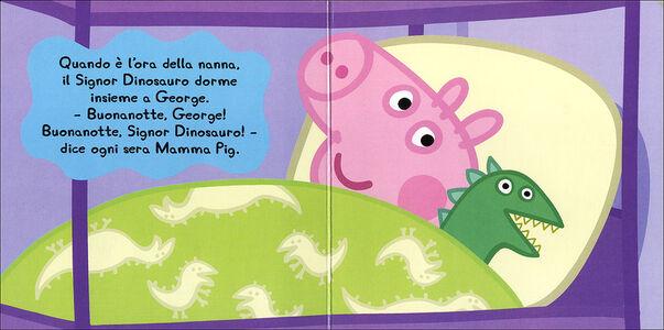 Foto Cover di Il signor Dinosauro. Peppa Pig. Hip hip urrà per Peppa!, Libro di Silvia D'Achille, edito da Giunti Kids 1