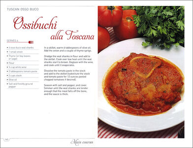 Libro Recipes from Tuscany. Traditional home cooking: yesterday's flavours for today's taste Paolo Petroni 1