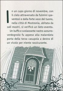 Libro Il mostruoso mostro Mostrobaldo Manuela Monari 1