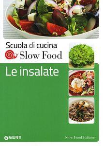 Foto Cover di Le insalate, Libro di  edito da Slow Food 0