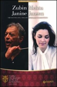 Zubin Mehta, Janine Jansen. Orchestra e coro del Maggio musicale fiorentino - copertina