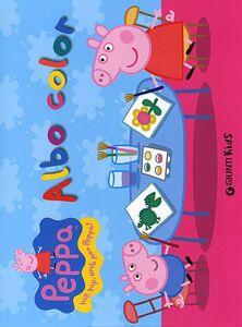 Foto Cover di Albo color. Peppa Pig. Hip hip urrà per Peppa!, Libro di Silvia D'Achille, edito da Giunti Kids