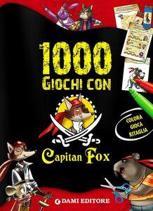 Libro 1000 giochi con Capitan Fox Marco Innocenti