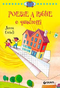Libro Poesie a righe e quadretti Janna Carioli