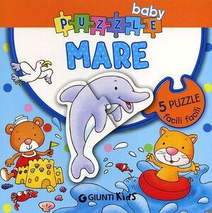Libro Mare. Libro puzzle Silvia D'Achille