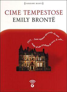 Libro Cime tempestose letto da Alessandra Bedino e Luigi Marangoni. Audiolibro. CD Audio formato MP3 Emily Brontë