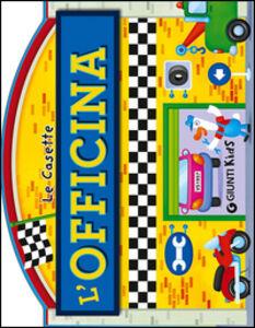 Foto Cover di L' officina, Libro di Silvia D'Achille, edito da Giunti Kids