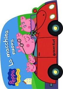 Foto Cover di La macchina nuova, Libro di Silvia D'Achille, edito da Giunti Kids