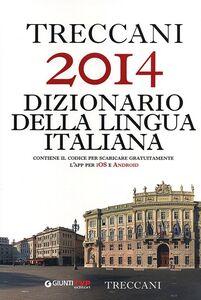 Libro Treccani 2014 dizionario della lingua italiana  0