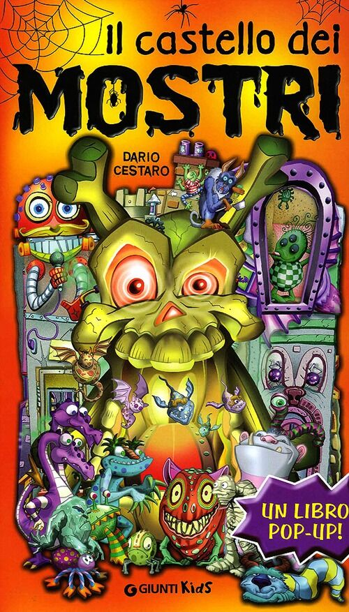Il castello dei mostri. Libro pop-up