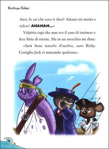 Libro Occhi per volare. Capitan Fox. Con adesivi Marco Innocenti , Simone Frasca 1