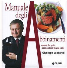 Vitalitart.it Manuale degli abbinamenti. Armonie del gusto, ideali contrasti fra vino e cibo Image