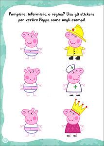 Foto Cover di Giochiamo insieme! Hip hip urrà per Peppa! Con adesivi, Libro di Silvia D'Achille, edito da Giunti Kids 1