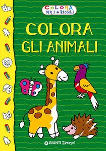 Foto Cover di Colora gli animali. Colora per i più piccoli, Libro di  edito da Giunti Junior