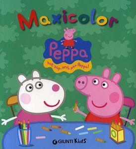 Libro Peppa maxicolor Silvia D'Achille