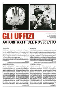 Libro Gli Uffizi. Autoritratti del Novecento. Ediz. italiana e inglese