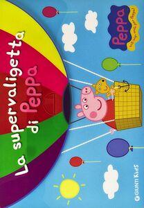 Foto Cover di La supervaligetta di Peppa. Con adesivi, Libro di  edito da Giunti Kids