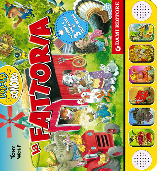 La fattoria. Libro pop-up s...