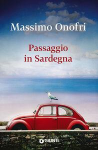 Libro Passaggio in Sardegna Massimo Onofri