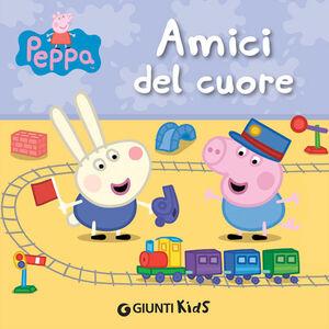 Libro Amici del cuore. Peppa Pig Silvia D'Achille