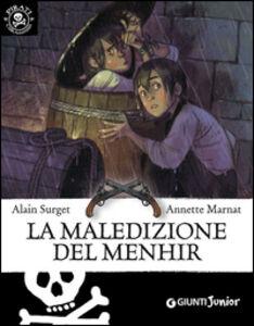 Libro La maledizione del Menhir Alain Surget