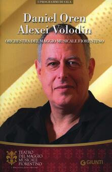 Winniearcher.com Daniel Oren, Alexei Volodin. Orchestra del Maggio Musicale Fiorentino Image