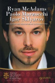 Ryan McAdams, Paolo Marzocchi, Igor Sklyarov. Orchestra del Maggio Musicale Fiorentino - copertina
